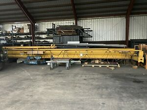 Gaffey 10 Ton Bridge Crane Single Girder With Shaw Hoist Trolley