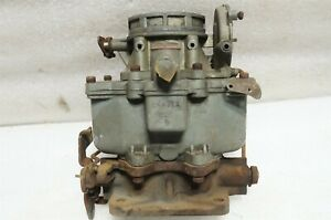 Cadillac Carter Wcd 722s 2 Brl Carburator Core 1946 1949 R3