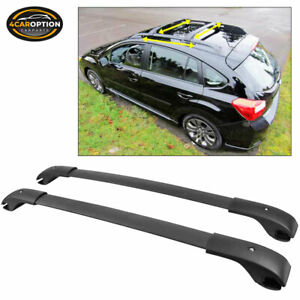 Fits 12 16 Subaru Impreza 13 17 Xv Crosstrek Cross Bar Roof Rack Rail Carrier
