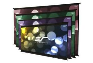 New Elite Screens Diyw100h3 Diy Wall 3 Series 100 16 9 Outdoor Projector Screen