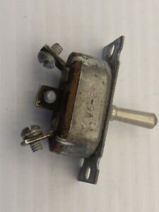 Cutler Hammer B9a an3022 1 Toggle Switch On off on Vintage Ww11 Aircraft