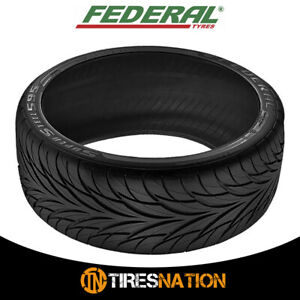 1 New Federal Ss595 205 40r16 Tires