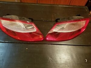 06 07 08 Porsche 987 Cayman S Oem Left Right Rear Taillight Tail Lamps Lights