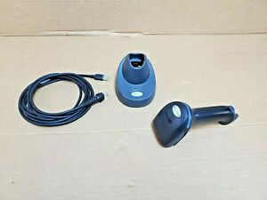 Xenon 1902 Honeywell Ncr 497 0434401 1d 2d Barcode Scanner W Cradle Usb Cable