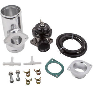 Universal Billet Anodized Type Rs Turbo Blow Off Valve Bov Kit 2 5 Flange Pipe
