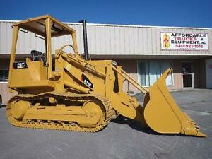 Caterpillar 931b Cat 931 Crawler Track Front End Loader