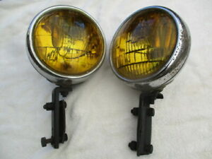 1942 1952 Guide B L C 5 3 4 Inch Fog Lights With Brackets All Cars And Trucks