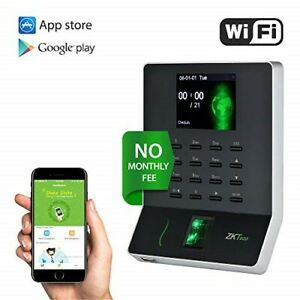 Wl20 Biometric Fingerprint Time Attendance Terminal Time Clock Machine