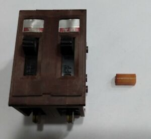 Wadsworth 2 Pole 15 Amp Breaker As Is Condition
