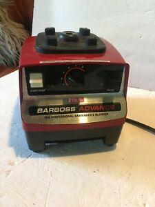 Vita mix Barboss Advance Red Base Only Working M0100a