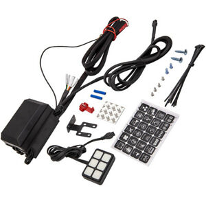 12v 6 Gang Switch Panel Led Light Bar Waterproof Relay Control Box For Car Truck