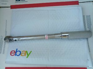 Snap On 3 8 Drive Adjustable Click Type Torque Wrench 200 1000 In Lbs Qc2r1000