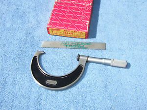 Starrett 226xfl 3 Micrometer 2 3 001 Toolmaker Machinist Grind Mill Used