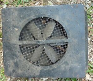 1946 1947 1948 Lincoln Under Seat Heater Box Fan Complete Unit May Fit 40 41 42