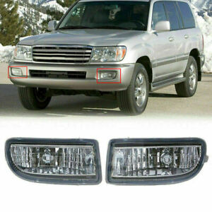 Bumper Fog Light Lamp Housing Durable For Toyota Land Cruiser J100 j10 1998 2007