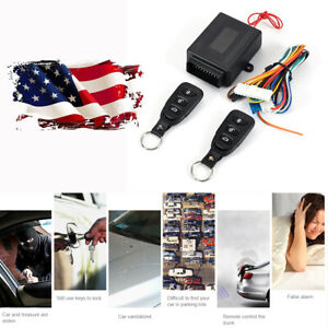 Us Shipping Car Remote Controller Kit Window Raise Door Lock Unlock Control
