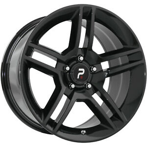 4 18x9 Black Wheel Oe Performance 101 Shelby Gt 500 Replica 5x4 5