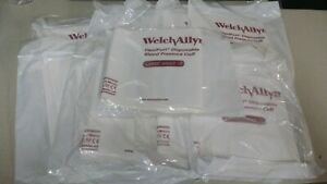 10 Welch Allyn Soft 12 Disposable Adult Large Flexiport Blood Pressure Cuff Nibp