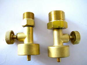 Jewelers Little Torch Canister Valves To Cga 200 Cga 540 Propane Oxygen Regs