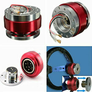 Quick Release Hub Adapter Snap Off Boss Kit For Car Truck 6 Hole Wheel Steering