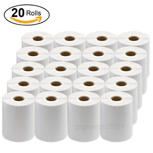 20 Rolls Dymo 4xl Labels Direct Thermal Shipping Labels 4 x6 1744907 Compatible