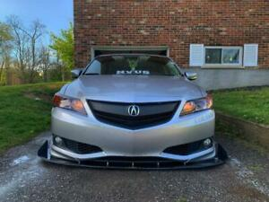 Fit Acura Ilx 2013 2014 2015 Front Upper Grill Grille W Emblem W Black Molding