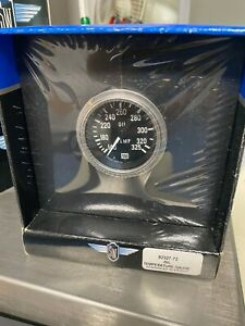New In Box Stewart Warner Deluxe Oil Temperature Gauge 82327 72