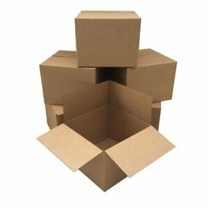 14x10x6 Cardboard Corrugated Box Shipping Cartons 10 200 Packing Mailing Moving
