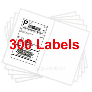 300 8 5x5 5 Rounded Corner Shipping Labels Self Adhesive 2 Per Sheet Usps Fedex