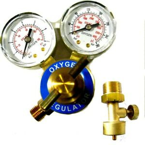 Jewelers Oxygen Regulator Canister Valve Smith Torch Type
