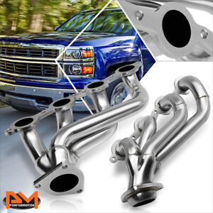 For 02 16 Chevy Silverado Truck Stainless Steel Exhaust Header Manifold Gasket