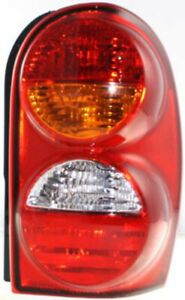 Passenger Right Side Tail Light Tail Lamp For 02 04 Jeep Liberty