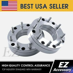 2 Wheel Adapters 5 Lug 5 5 To 8 Lug 6 5 Spacers 5x5 5 8x6 5 2