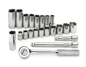 Sk Tools 91820 3 8 Drive Socket Set Metric 22pc Made In Usa