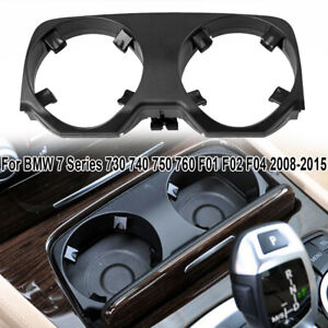 Car Center Console Cup Holder Outer Cover For Bmw 7 Series F01 f02 f04 2008 2015