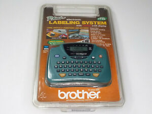 Brother Pt 65 P touch Home And Hobby Labeler With Large Lcd Display Screen