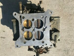 4 Barrel Holley Carburetor 600 Cfm Rebuild Or Parts
