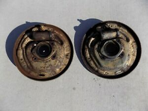 Front Drum Brake Backing Plates Mustang Falcon Fairlane V8 65 66 67 68 Ford 1965
