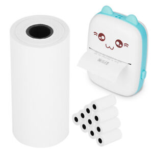 10 Rolls 55mm Thermal Receipt Paper Pos Cash Register For Mini Mobile Printer