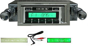 1964 1965 Buick Skylark Gs Radio Free Aux Cable Stereo 230