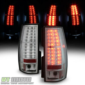 2007 2014 Chevy Suburban Tahoe Gmc Yukon Xl Lumileds Led Tail Lights Brake Lamps