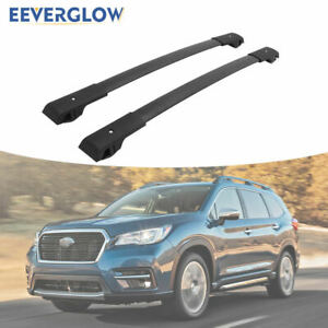 Cross Bar Roof Rack Rail Fit For Subaru Ascent 2019 2020 Luggage Baggage Black