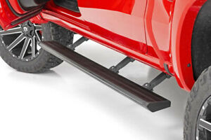 Rough Country Retract Electric Running Board For 15 20 F 150 Psb31520