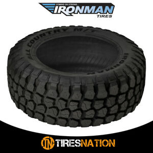 1 New Ironman All Country M t 33x12 5x15 108q Mud terrain Performance Tire