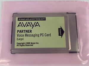 Avaya Partner Large Voice Messaging Pc Card 700226525 Refurbished