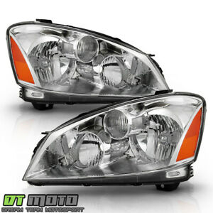 For 2005 2006 Altima Halogen Headlights Replacement Headlamps 05 06 Left right