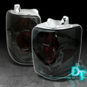 Smoked 93 98 Jeep Grand Cherokee Altezza Tail Brake Lights Lamps Left right Pair