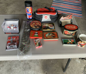 COCA COLA LOT OF COLLECTIBLES... MUST SEE