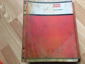 Case W7 Series E Loader Tractor Factory Service Repair Manual Oem