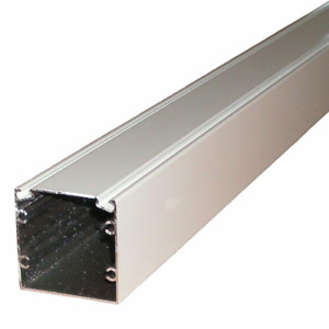 Aluminum Extrusion Spline Track Screen Frame Post 8 Ft X 2 X 2 Inch White Color